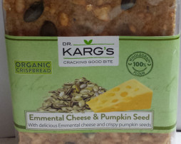 Dr Karg Spelt and Emmental Cheese Crackers (200g)