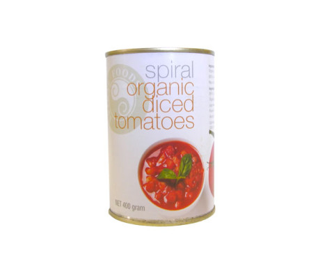 Spiral Organic Diced Tomatoes (400g)