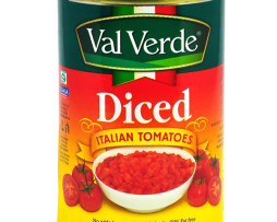 Val Verde Diced Italian Tomatoes (400g)