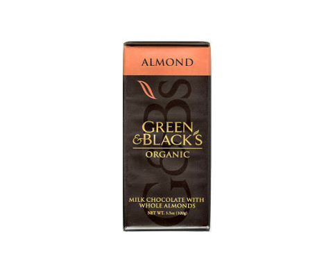 Green & Blacks Almond and Milk Chocolate (100g)
