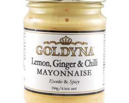 Goldyna Lemon, Ginger and Chilli Mayo (250g)