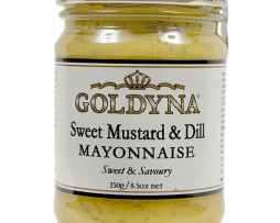 Goldyna Sweet Mustard and Dill (250g)